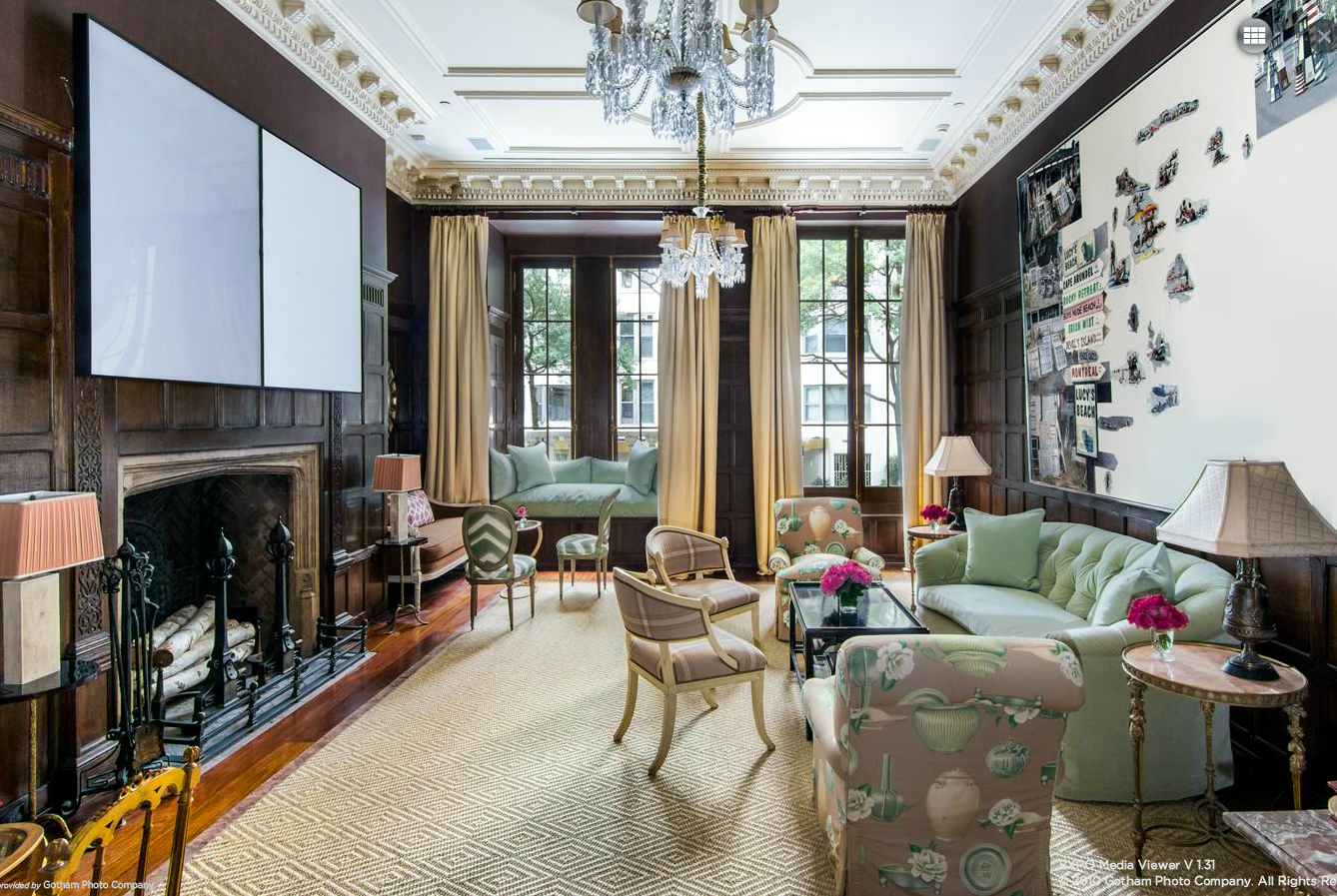 Rather modest ues townhouse has five floors seven for Elevator townhomes