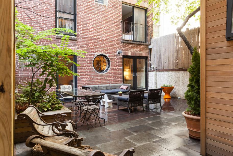 173 Hicks Street, backyard, patio