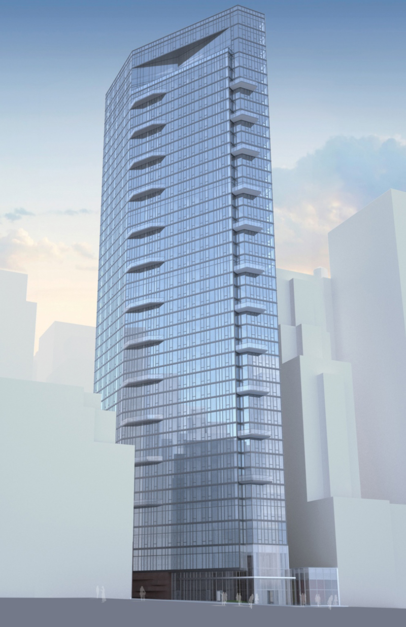 New Renderings Of Handel Architects Torqued 43 Story