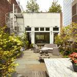 27 Howard Street, backyard, terrace, penthouse