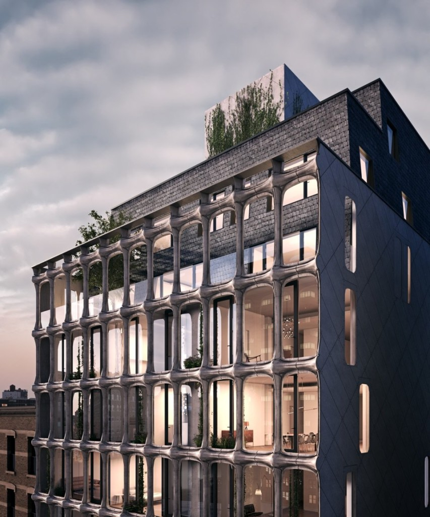 Downtown Apartments Nyc: A Closer Look At How XOCO 325's Oh-So-Cool Melting Facade