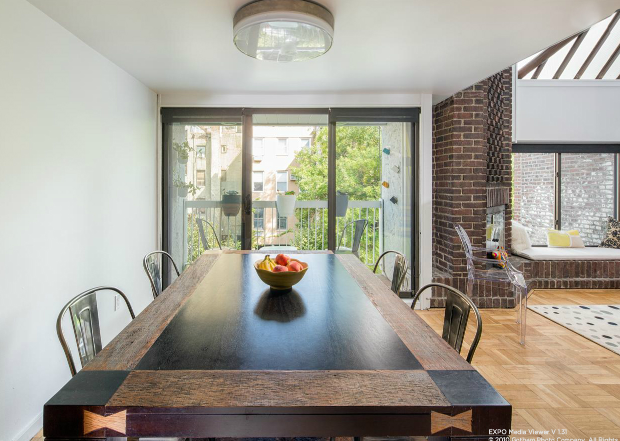 365 West 19th Street, Cool listing, Chelsea, NYC co-op for sale, Interiors, Contemporary Interiors, Penthouse