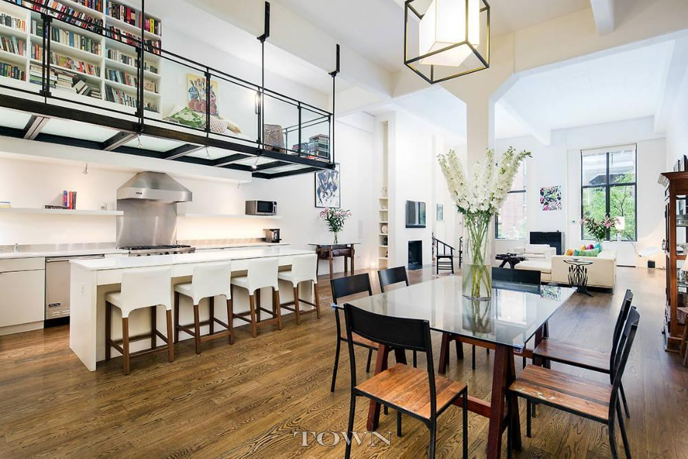 This 5 5m West Village Pad Has A Glass Catwalk And Will
