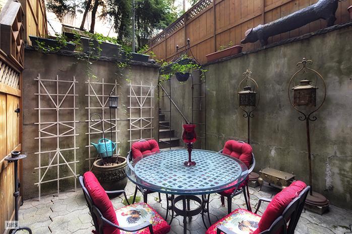 403 East 87th Street, patio, backyard