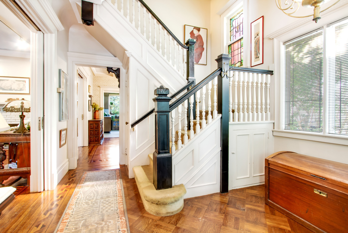 447 Rugby Road Stairs