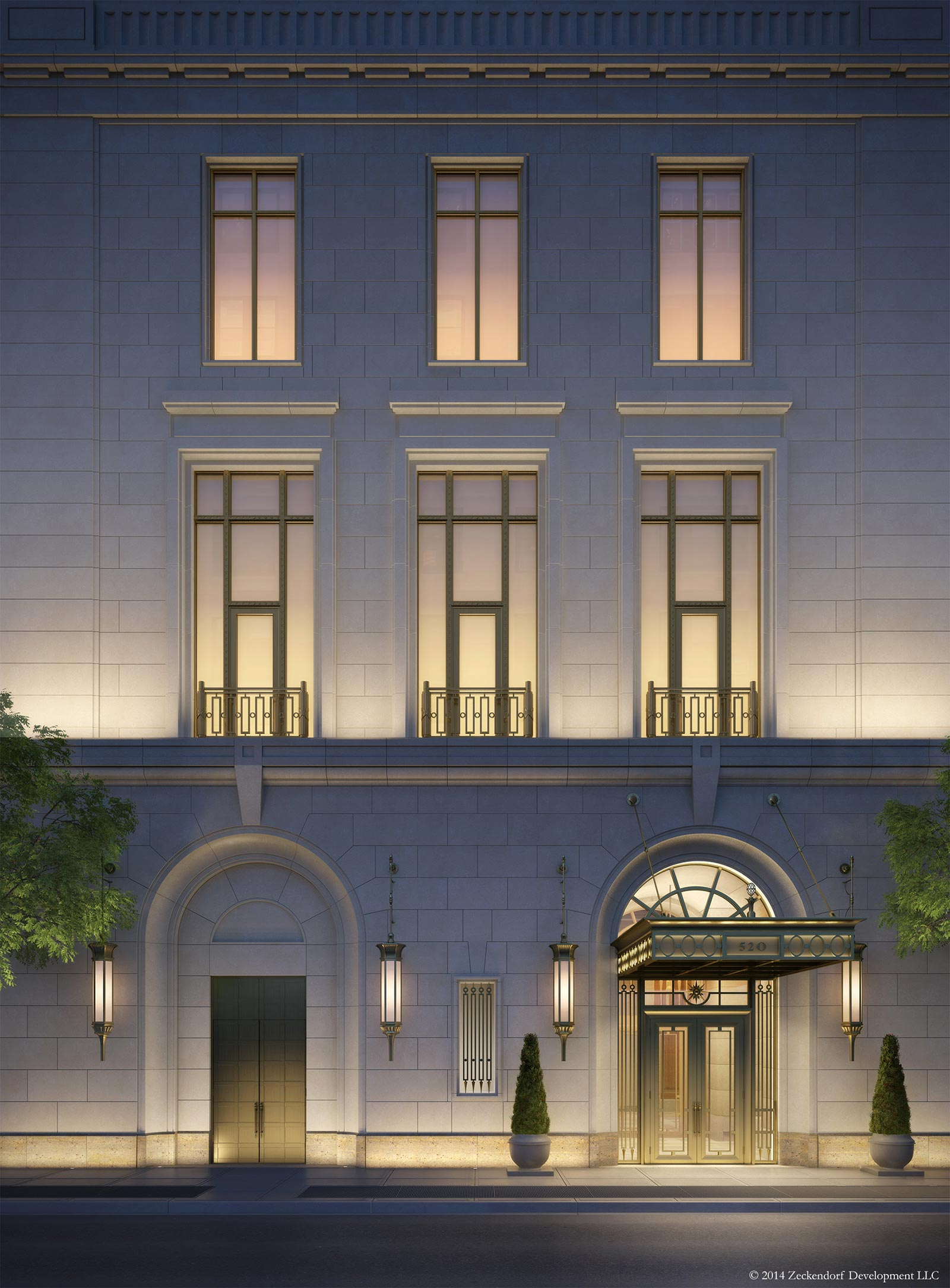 520 Park Avenue, 45 East 60th Street, Zeckendorf Development, Robert AM Stern, RAMS, Central Park nyc