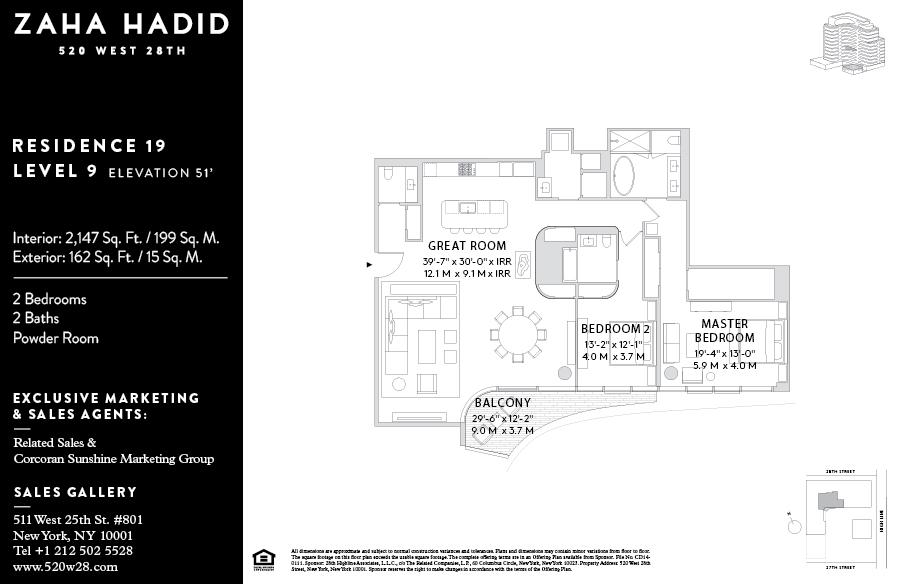 520 West 28th Street, Zaha Hadid, NYC starchitecture, High Line condos