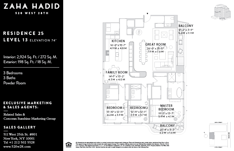 Listings Launch For Zaha Hadid S High Line Condos 6sqft