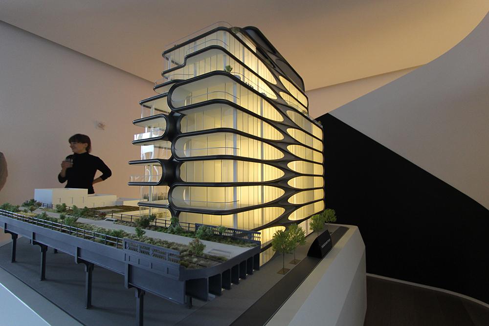 Zaha Hadid Launches Sales At Her High Line Condos Talks