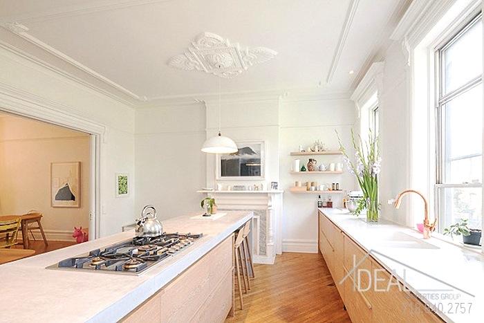 611 macon street, kitchen, duplex