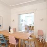 611 macon street, dining room, bed stuy
