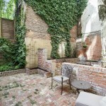838 Greenwich Street, backyard, private terrace