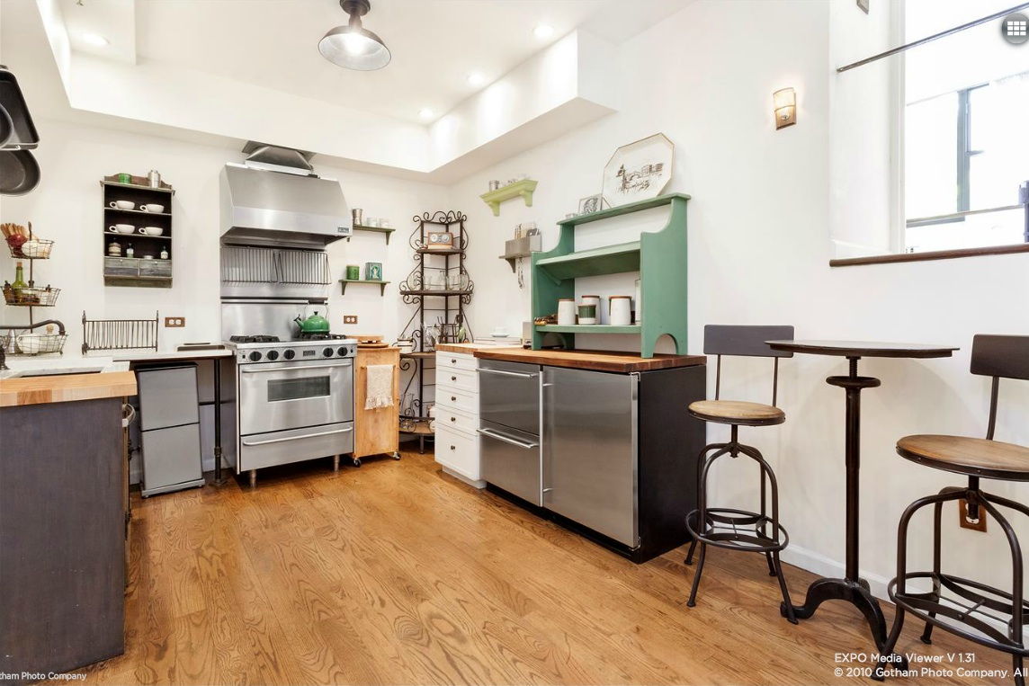 838 Greenwich Street, kitchen, entrance, co-op, triplex
