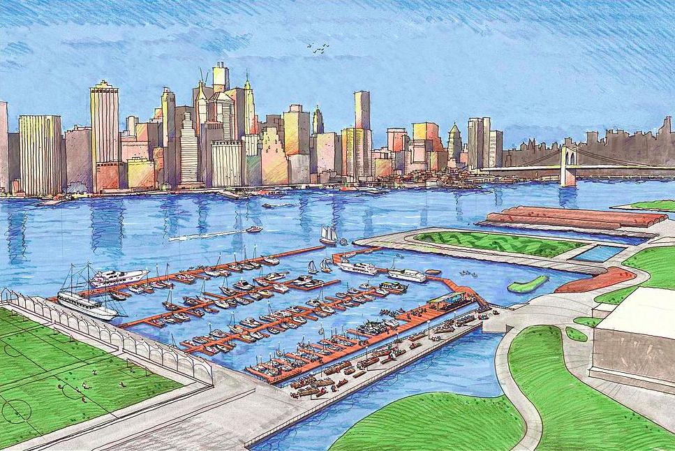 Brooklyn bridge docks essay