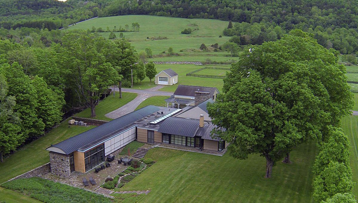 Charlotte Valley Farm, Peter Gluck, farmhouse additions, Catskills architecture