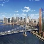 Extell Development, Gary Barnett, One Manhattan Square, Two Bridges, Manhattan Bridge, Manhattan skyline