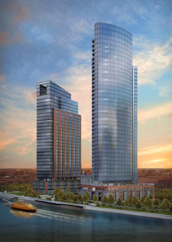 Two New Handel Designed Towers To Sail Onto The Greenpoint