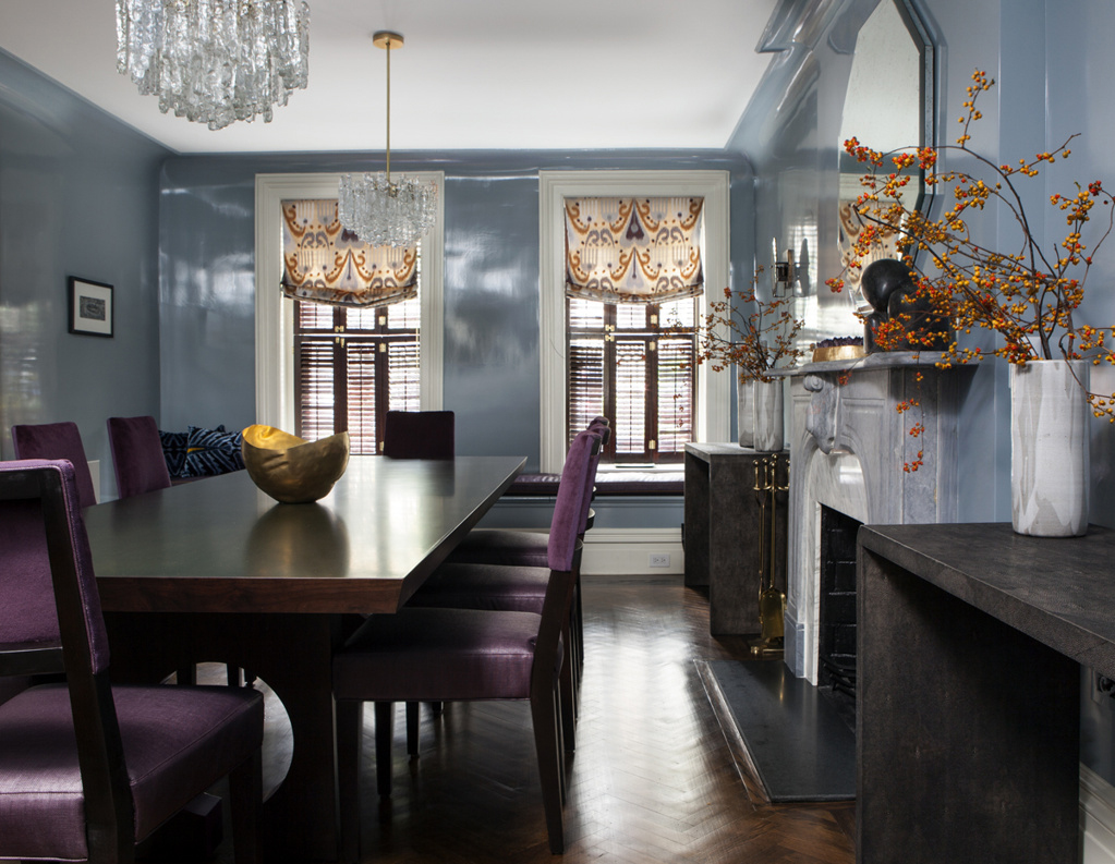 Upper east side townhouse by blair harris boasts opulant for Upper east side townhouses