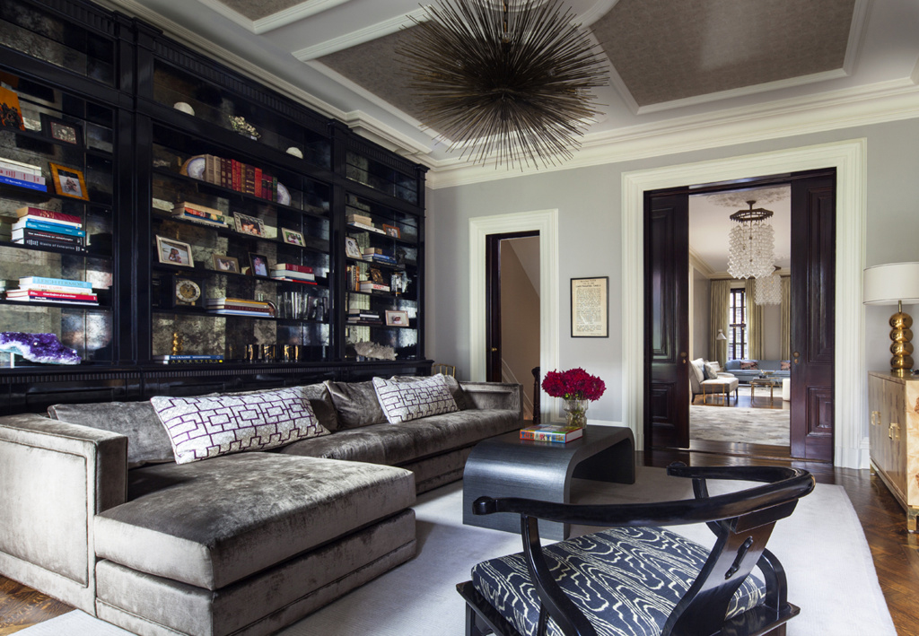 Haris UES townhouse livingroom