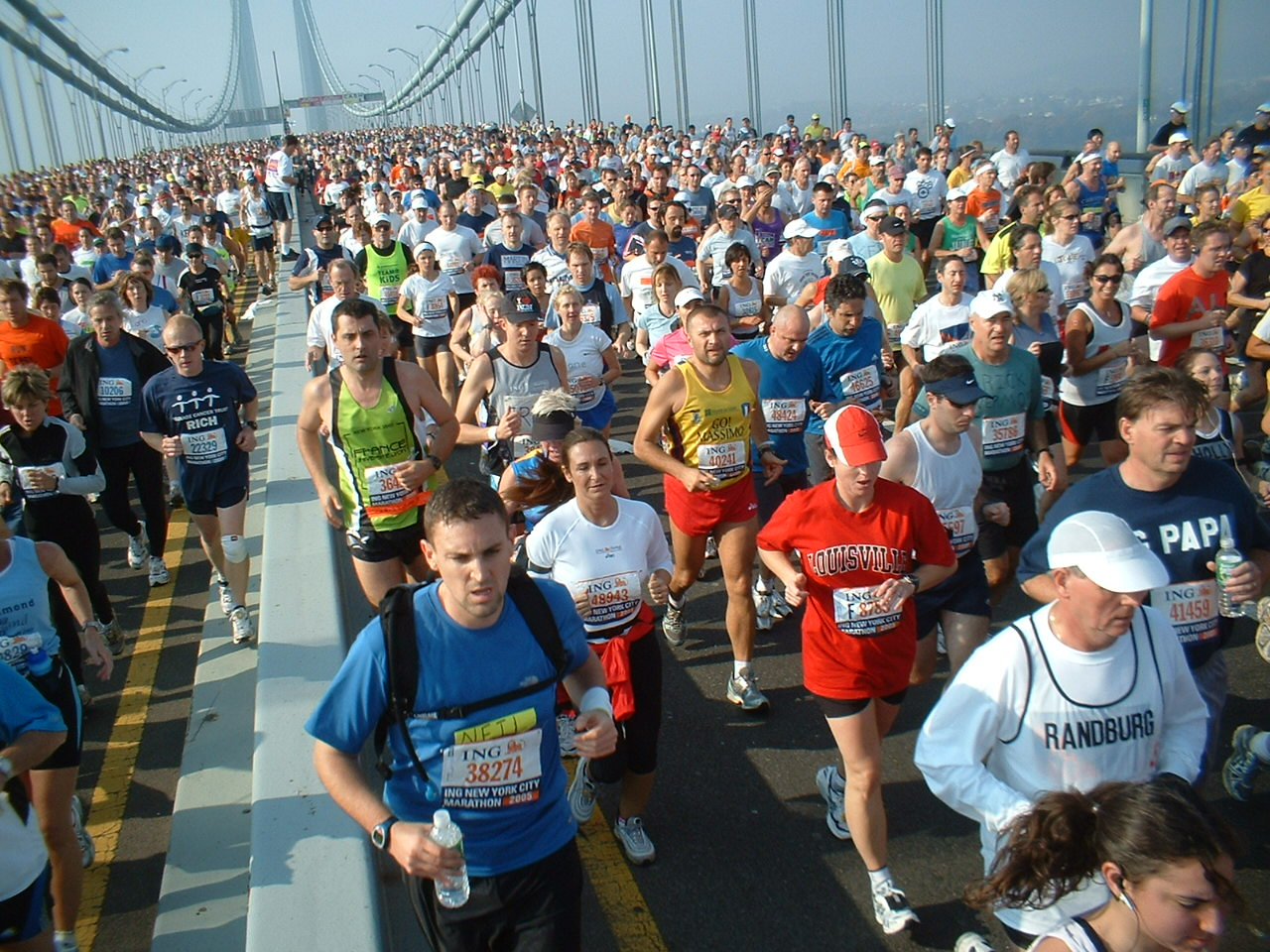 Verrazano Bridge, NYC Marathon