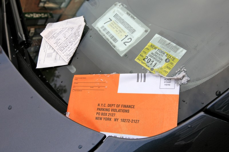 nyc parking ticket