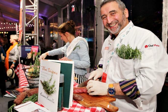 Chef Cesare Casella, New York City Wine and Food Festival