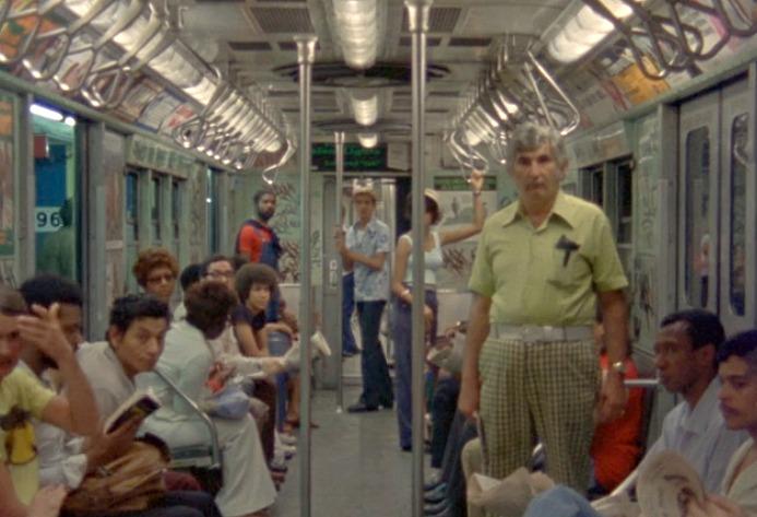 1970s subway, Chantal Akerman, vintage subway cars, New from Home,