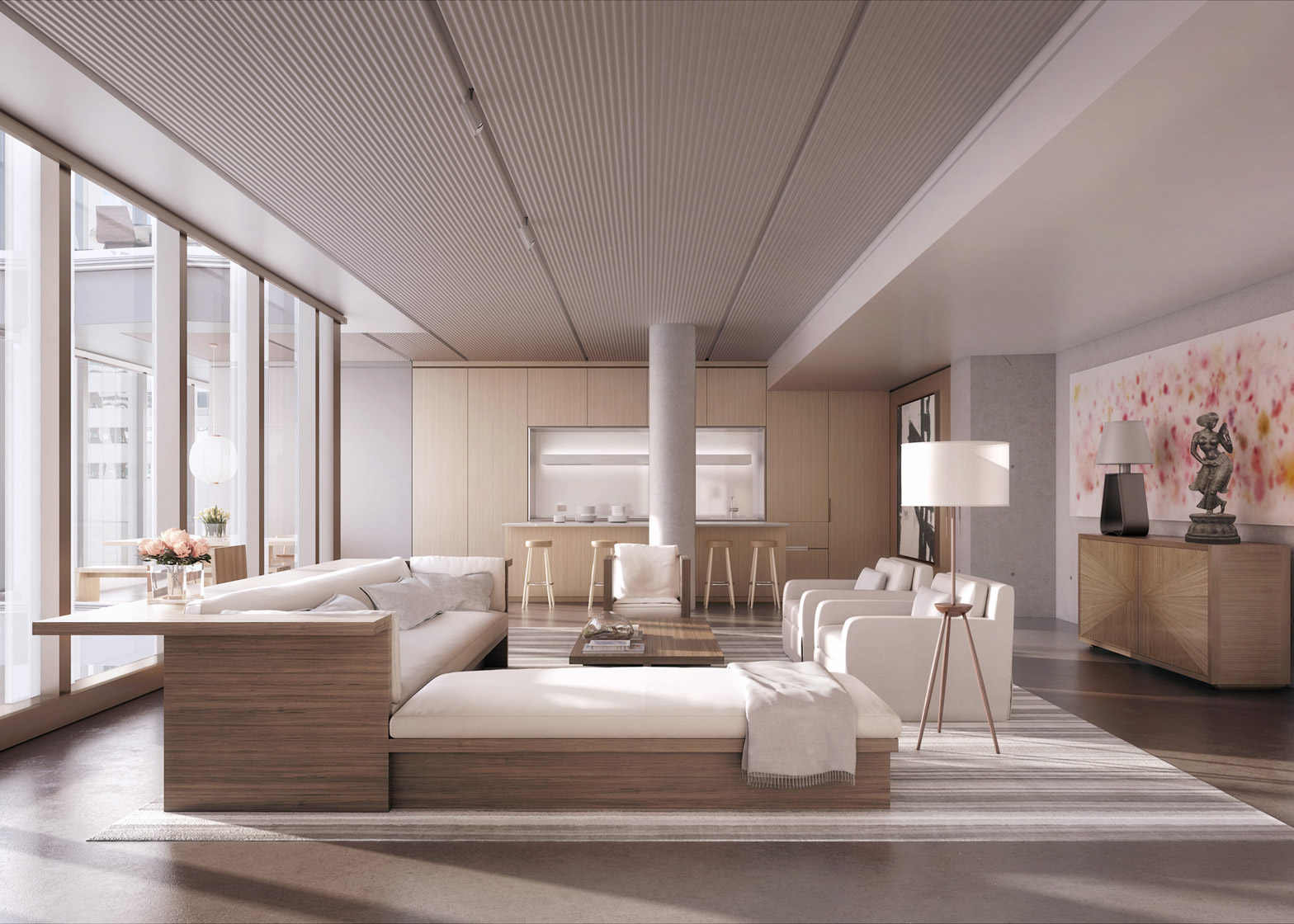 Revealed Interior Renderings Of Norman Foster S Skinny