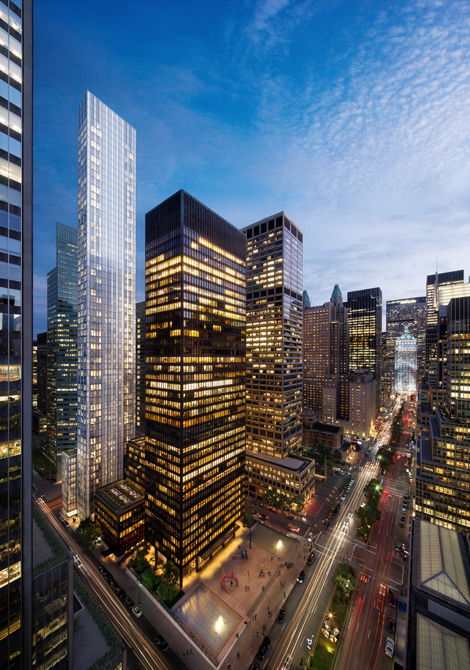 100 east 53rd street, one hundred east fifty third street, norman foster, seagram building