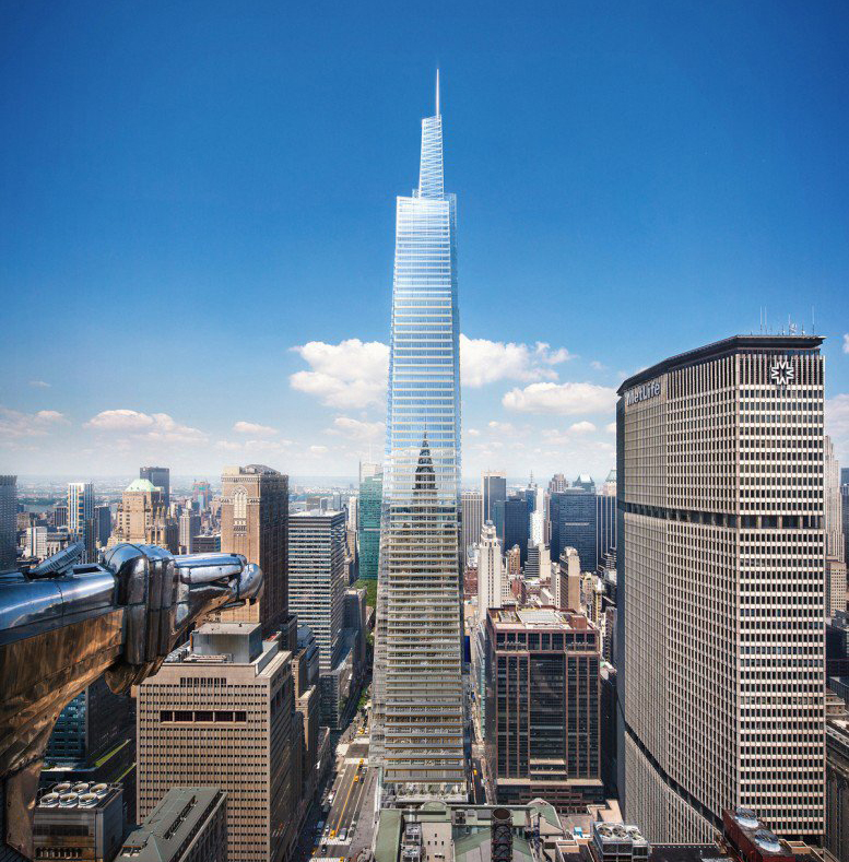 10 Manhattan Ave New York Ny 10025: New Renderings Of One Vanderbilt Show The 1,500-foot Tall