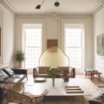 Rashid Johnson's living room
