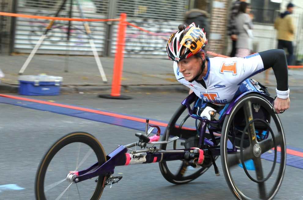 Tatyana Mcfadden, NYC Marathon