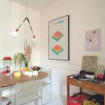 Tauba Auerbach's vivid kitchen