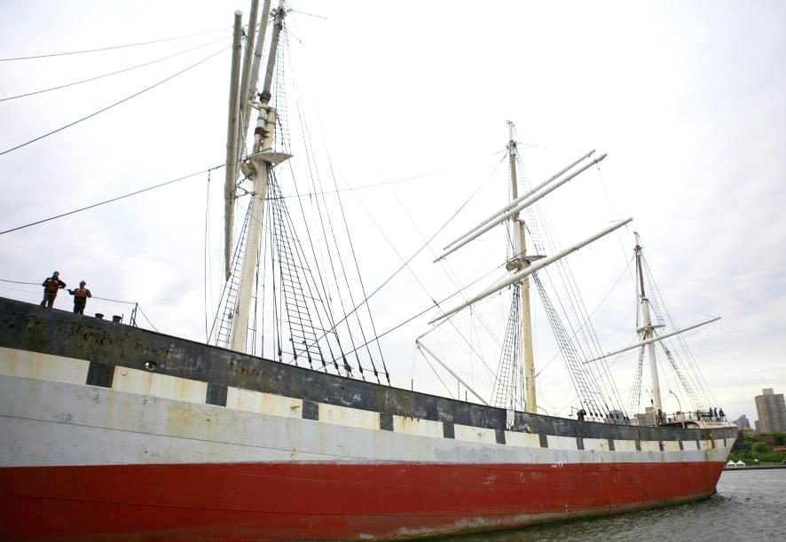 South Street Seaport Museum, Wavertree, historic ships, South Street Seaport Historic District