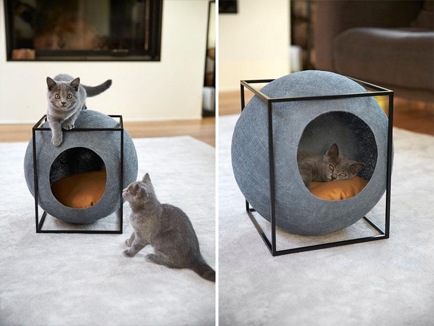 designer cat beds 1