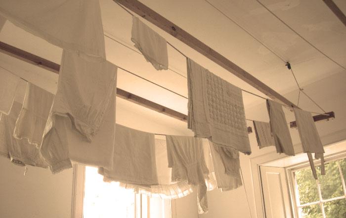 ceiling drying rack