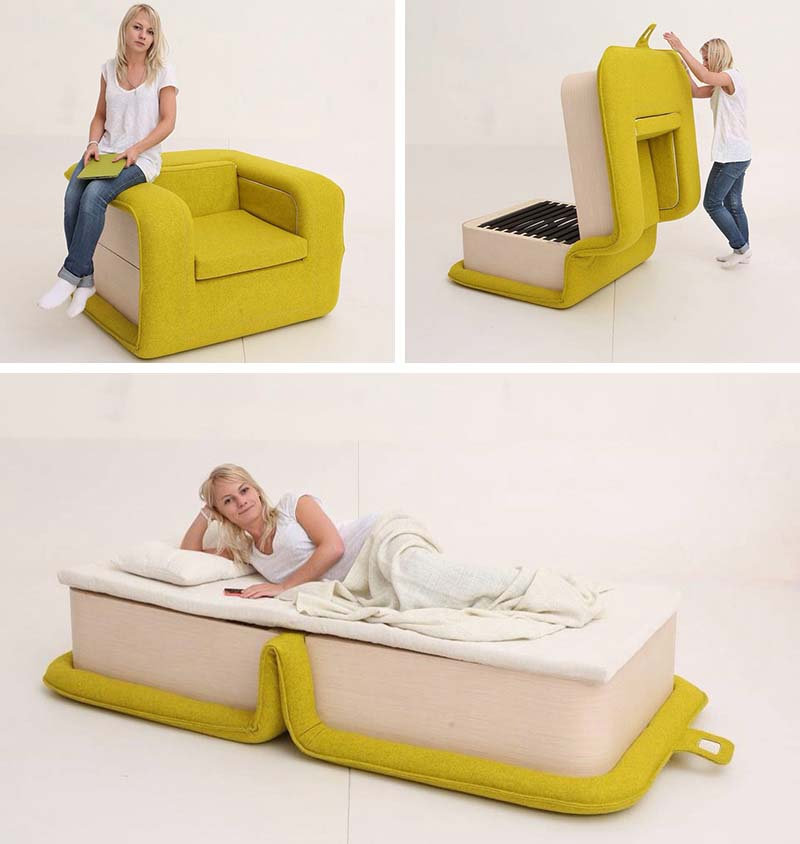 Designer Elena Sidorova S Flop Armchair Opens Like A Book