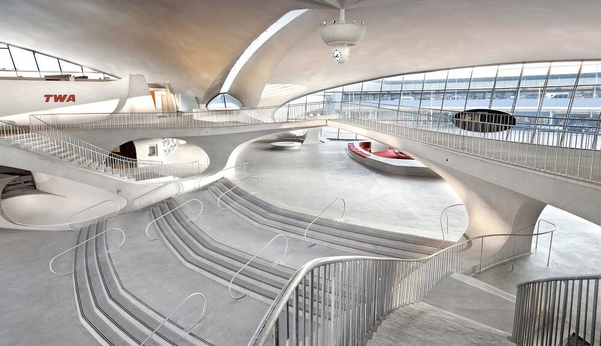 twa flight terminal tunnel