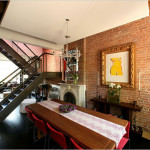 carroll gardens townhouse, robert young architects, floating staircase