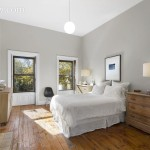 127 Park Place, master bedroom, park slope, townhouse