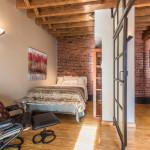 155 Duane Street, bedroom, tribeca, townhouse