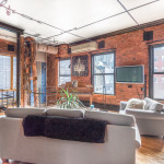155 Duane Street, tribeca, townhouse, living room