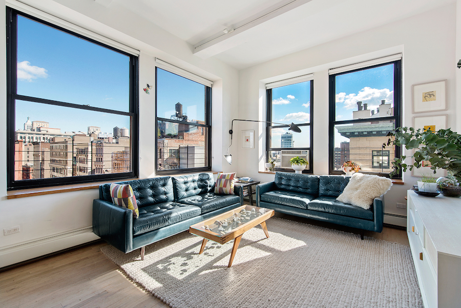 Architect owner of this polished yet casual village loft for Loft in manhattan for sale