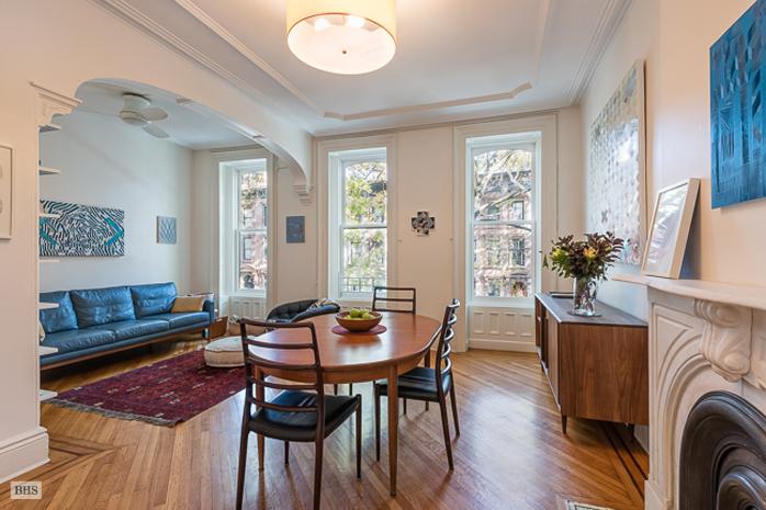 30 south portland, fort greene, brownstone, dining room
