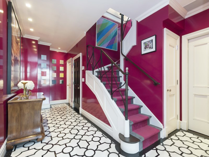 400 East 59th Street, upstairs, duplex, staircase