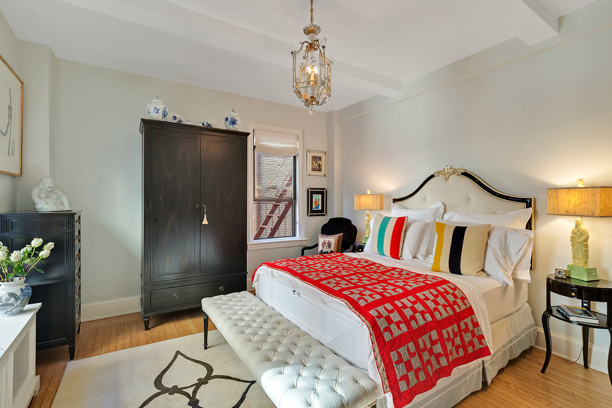 425 East 51st Street, bedroom, beekman hill house, co-op