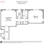 425 east 51st street-floorplan