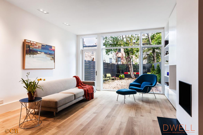 473 11th Street, living room, park slope, modern, renovation