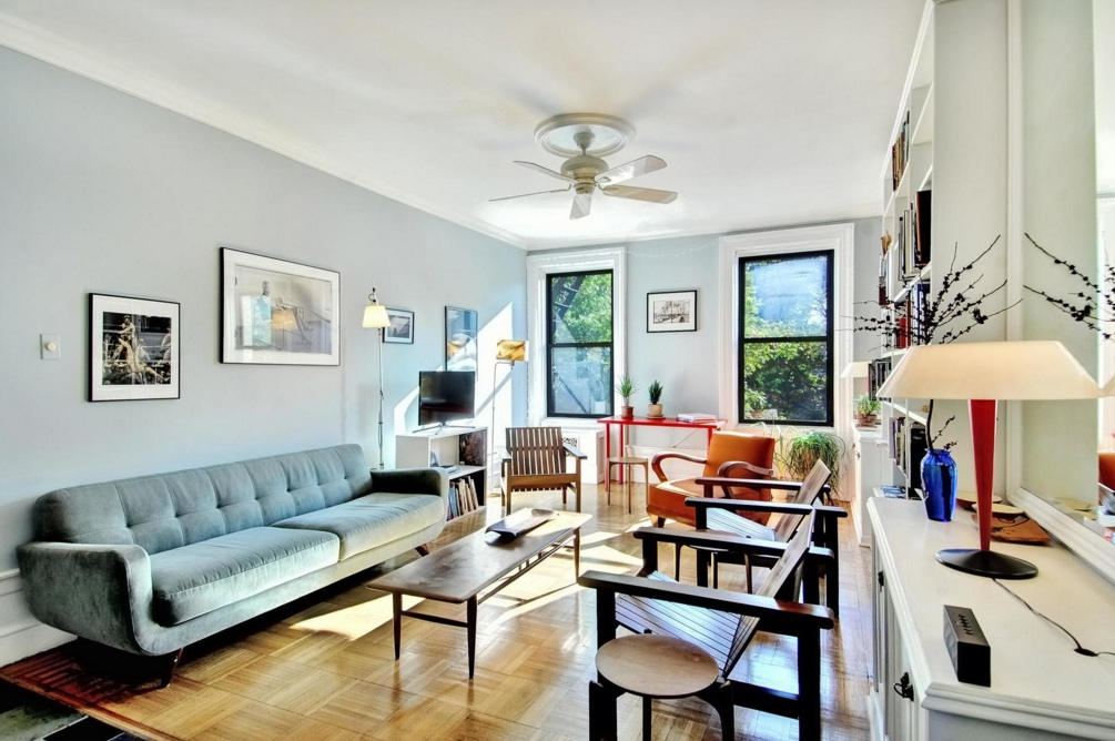 500 West 111th Street, living room, co-op apartment, morningside heights