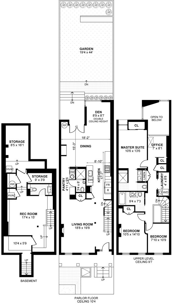 6sqft 702 monroe street floorplan for House plans monroe la